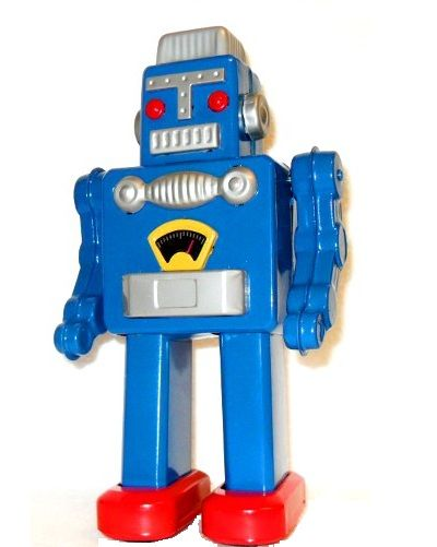 Big Blue Robot Jpg 400 215 501 Blue Robots Pinterest