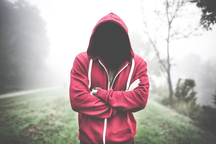 Creepy Man Without a Face in a Hoodie Free Stock Photo Download | picjumbo