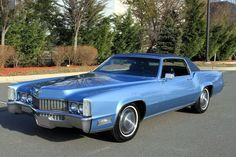 Jim & Chester's Garage. Sapphire Blue Metallic… 1969 Cadillac Fleetwood El…