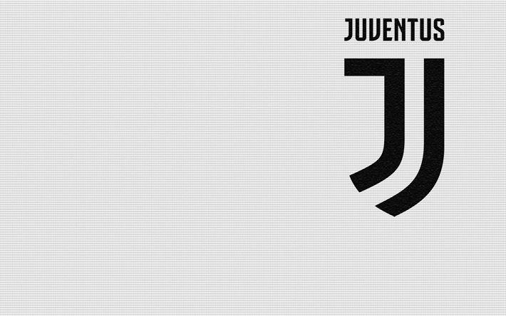 Download imagens A Juventus, novo emblema, logo 2017, Serie A, futebol, Itália, Turim