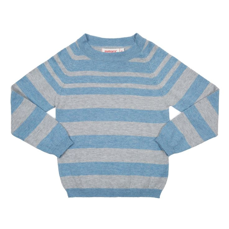 Pull Seattle Denim Stripe - Aymara online Kinderkleding - Kids Webshop Goldfish.be - Goldfish Kids Web Store Mechelen
