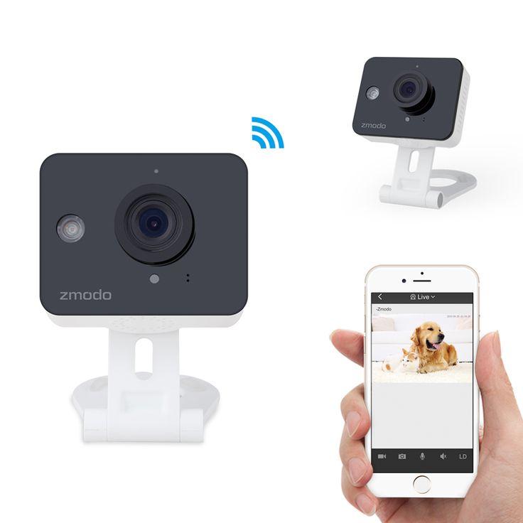 Zmodo 720P HD WiFi Mini Color Sensor Home Security IP