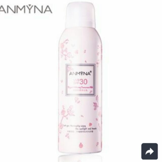 I'm selling Anmyna Elegant Sunscreen Milk (Sunblock Spray)😍 for $78.00. Get it on Shopee now!https://shopee.com.my/world75/58867052 #ShopeeMY