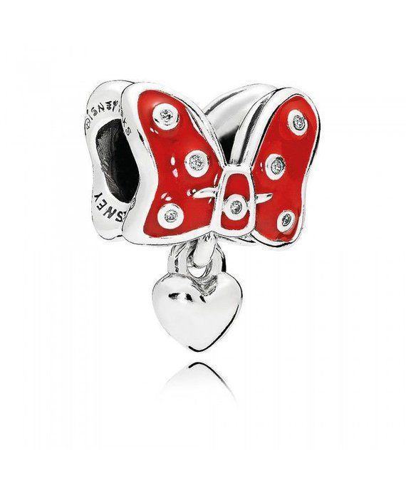 ff3ea218d Authentic Pandora Minnie Mouse Red Polka Dot #supplies @EtsyMktgTool  #disneypolkadot #redpolkadot #polkadotcharm #disneycharm #disneycharms