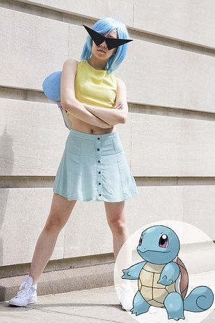 No. 7: Squirtle, the Tiny Turtle Pokémon | 15 Ridiculously Easy Pokemon Halloween Costumes You Can Make For $30