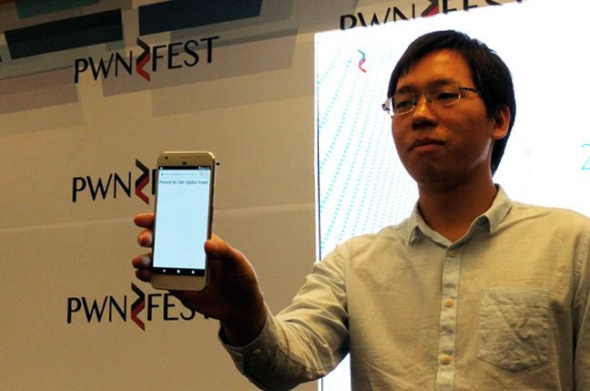 A team of white-hat hackers from China was able to hack Google's Pixel flagship smartphone in less than a minute at the PwnFest hacking...