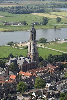 "Benedict's home was in ""Rhenen, on the north bank of the Rhine."""