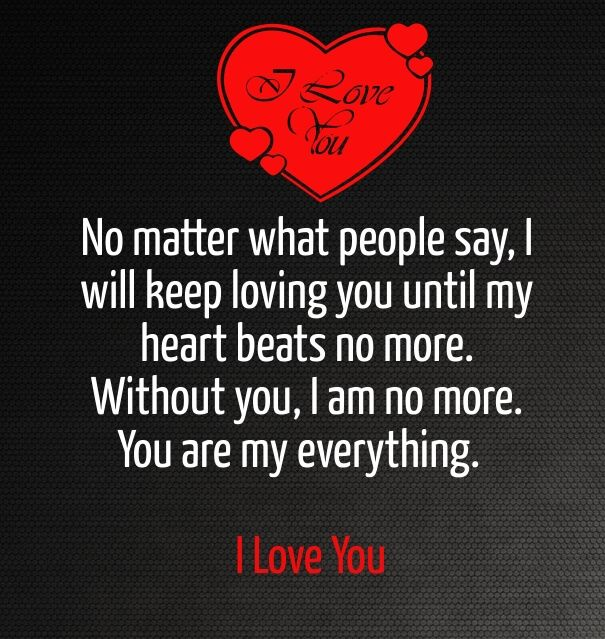 I Love You Quotes for Him & Her with Images Love my wife