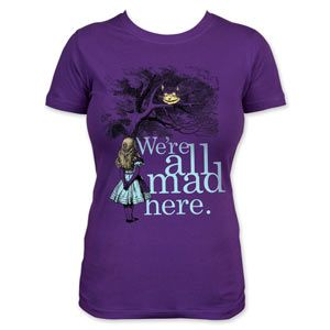 another cool Alice in Wonderland shirt!