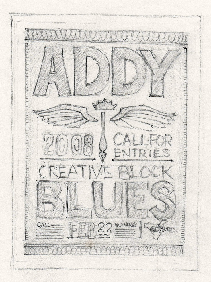 Addy show poster design.