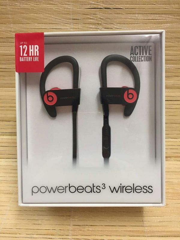 Powerbeats3 Wireless Earphones - Red Now £129.98, Save £39.97