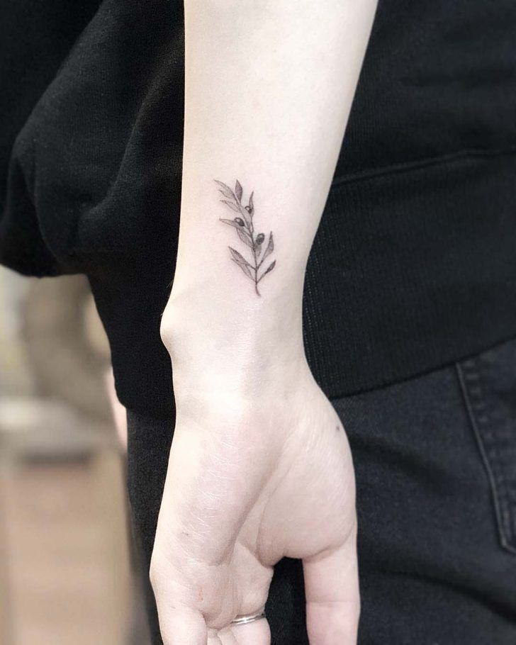 Olive Branch Small Tattoo Shoppe Today Better Than You Have Olive Branch Small Tatt In 2020 Olive Branch Tattoo Branch Tattoo Olive Tattoo