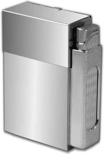 Polished Chrome Mirror Cigarette Case With Lighter (100u0027s Size) #CH41 by BeWild.  sc 1 st  Pinterest & The 25+ best Cigarette case with lighter ideas on Pinterest ... Aboutintivar.Com