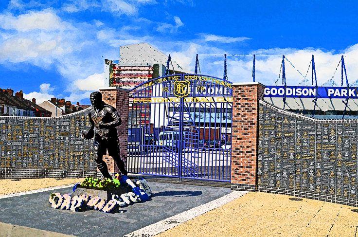 Dixie Dean Gates, Goodison Park, Liverpool; home of Everton FC