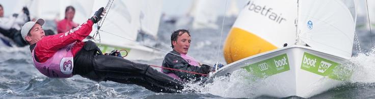 Kiel Sailing Week - Ferdinand Gerz und Patrick Follmann im 470er  -   Foto: Otto Kasch /okpress