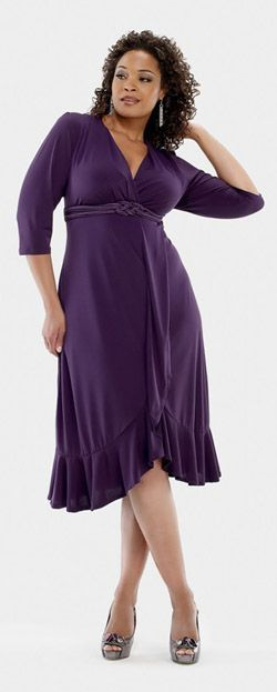 plus size clothes | Marilyn Hankerchief Dress Plus Sized Clothing From Baby Phat  KEEP IT KINKY DA KINKY KID