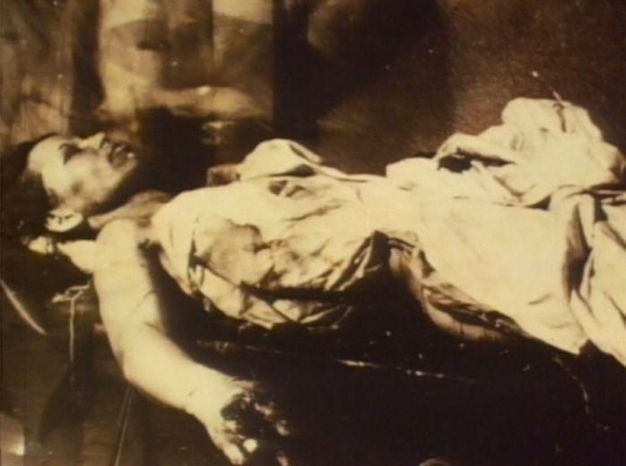 Bonnie's body,Very eerie image!!!