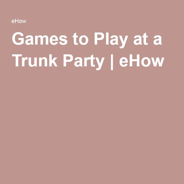 Insanely Good Ideas to Throw the Perfect College Trunk Party