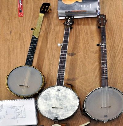 Handmade Custom Banjos By Dorset Custom Furniture, A Member Of The Guild Of  Vermont Furniture