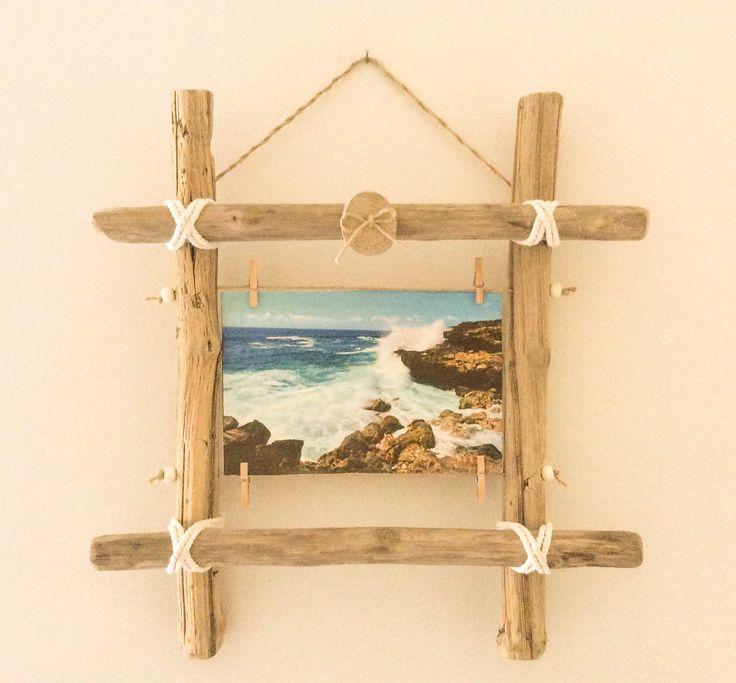 Les 42 meilleures images propos de cadres en bois flott sur pinterest ca - Cadre en bois flotte decoration ...
