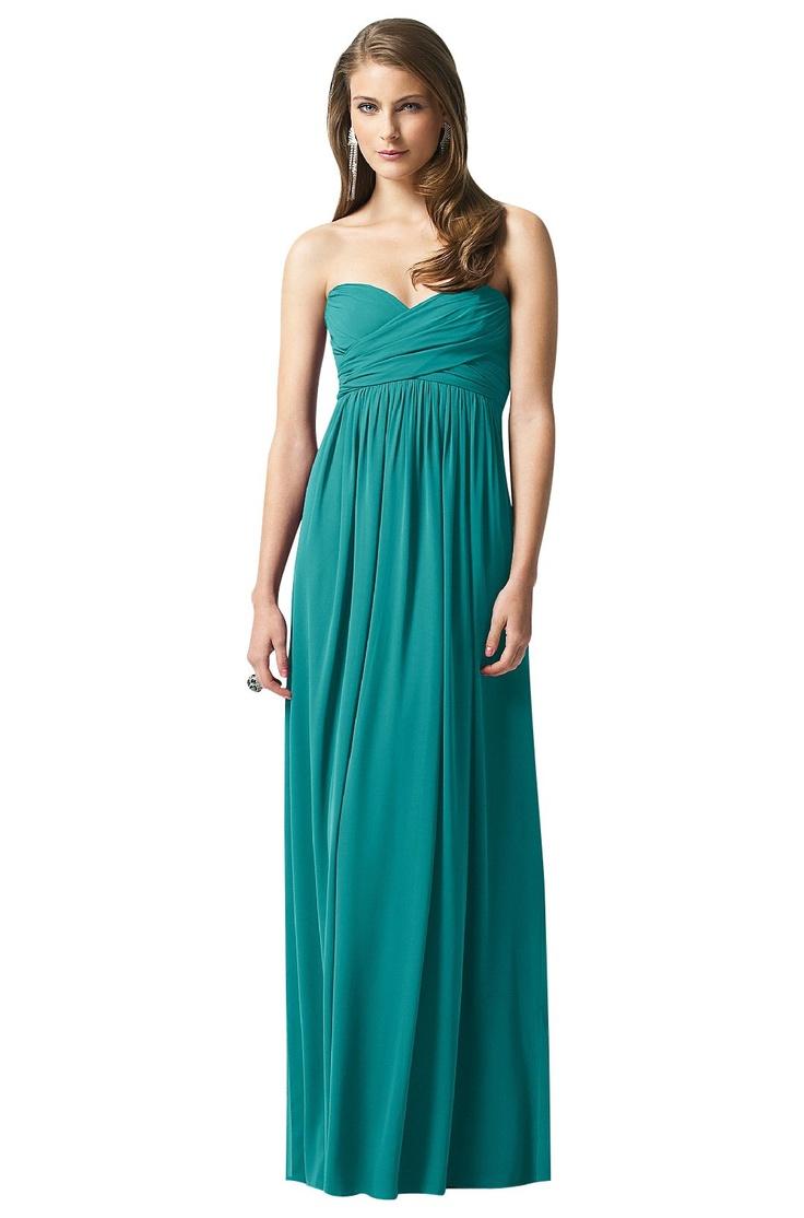 Dessy Bridesmaid Dress in Jade | Weddington Way  $258