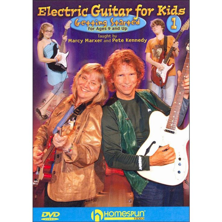 Marcy Marxer/Pete Kennedy: Electric Guitar for Kids, Vol. 1: Getting Started (dvd_video)
