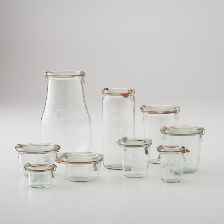 Weck Storage Jars | Schoolhouse Electric & Supply Co.