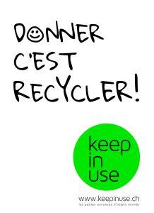 Zero Waste Switzerland - Plateformes de prêts ou services entre particuliers