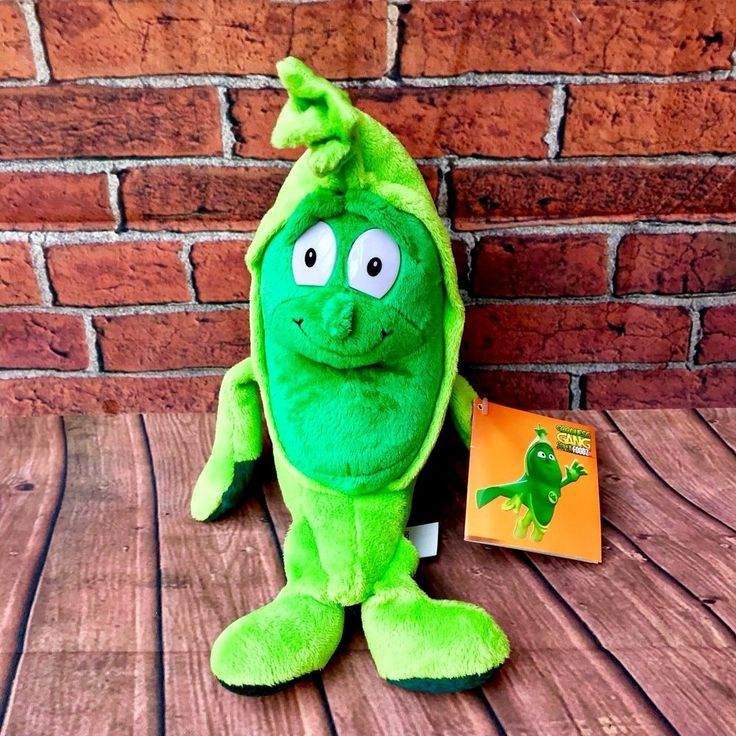 co-op Tcc Goodness Gang peter Pea Brand New Tagged beanie plush toy gift kids