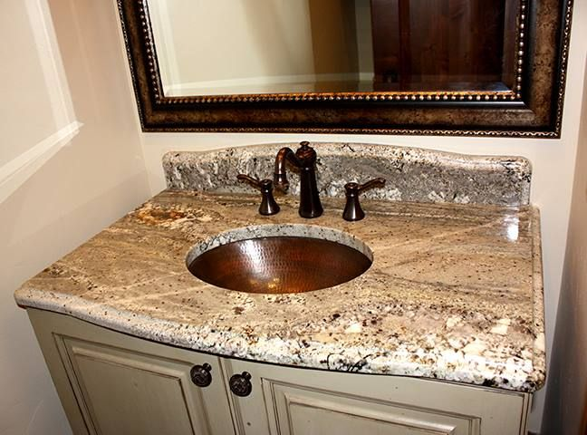 Such A Gorgeous Copper Sink Valley View Granite Not Only Does