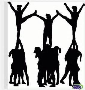 Cheerleader Silhouette Clip Art - Bing Images