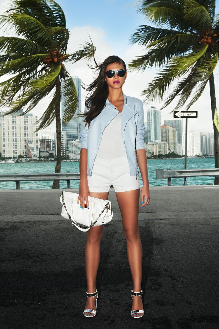 #jacket #shorts #shades #miami