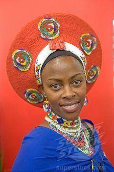 Zulu woman ~ South Africa.