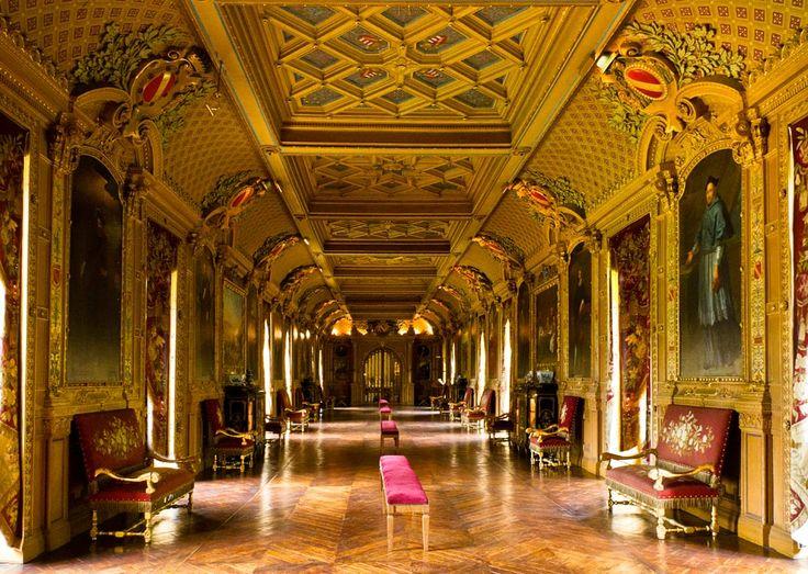 La Galerie du Château de Maintenon.
