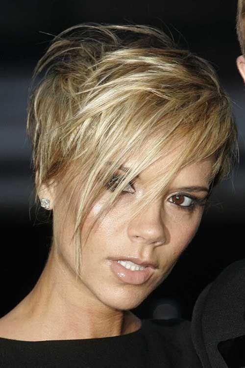 Victoria Beckham Pixie Hair