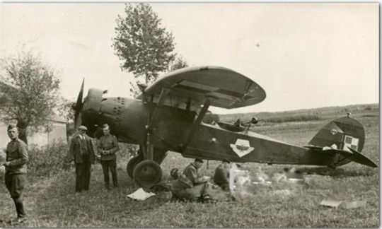 Polish scout Lublin R. XIII and crews on vacation. The prewar period.