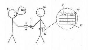 Sony: Das Armband gegen vergessene Namen