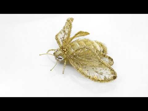 """Eve Anders Accessories - Unique Brooch """"Bumblebee Elina"""" - YouTube"""