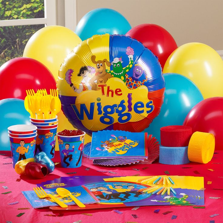 The Wiggles Personalized Party Theme