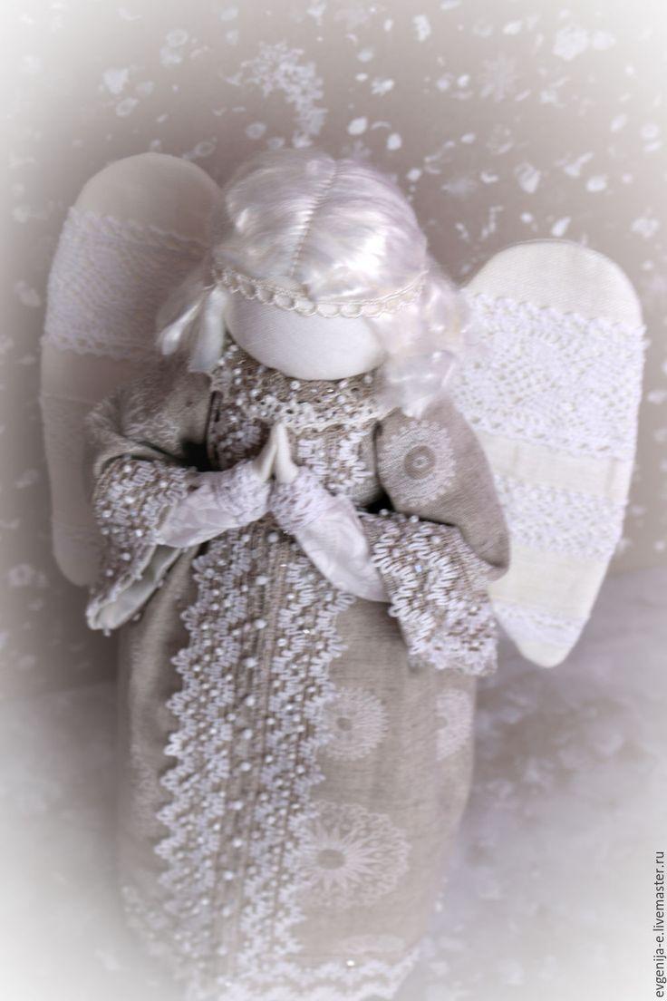 """Купить """"Ангел - Хранитель мой"""" - белый, ангел, ангел-хранитель, Новый Год, рождество"""