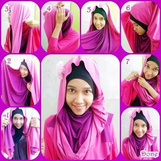 Latest for Hijab Tutorial 2013