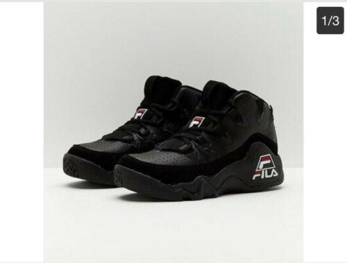 8357771534 Fila The 95 size 14 Blackout 1VB90040-008 Grant Hill Detroit Pistons ...