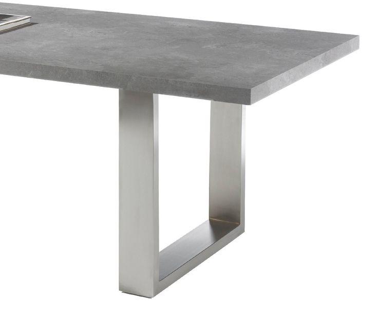 Die besten 25 betonplatte ideen auf pinterest betonterrasse betonmalerei und betonterasse fleck - Esszimmertisch betonoptik ...