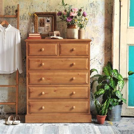 English Heritage Pine 6 Drawer Chest 310.203N Quality wooden furniture at great low prices from PineSolutions.co.uk. Get Free Delivery and Exchanges on all orders. http://www.MightGet.com/january-2017-11/english-heritage-pine-6-drawer-chest-310-203n.asp