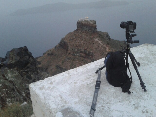 Timelapse on edge of the cliff. Best island on the world! Best time ever!!!