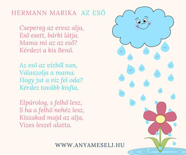 Gyermekvers az esőről :)