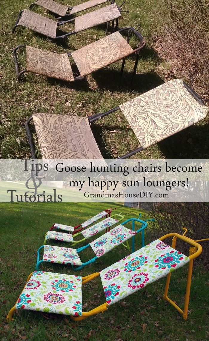 amazing inspiration ideas sun loungers. Outdoor sun loungers DIY cheap and inexpensive upcycle out of old goose  hunting chairs outdoor 484 best Projects images on Pinterest life