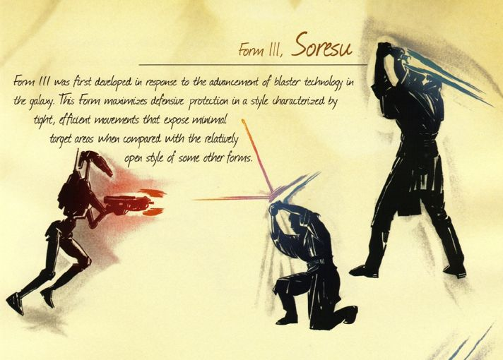 The 7 Forms of Lightsaber Combat (Part 3) | Star Wars | Pinterest ...