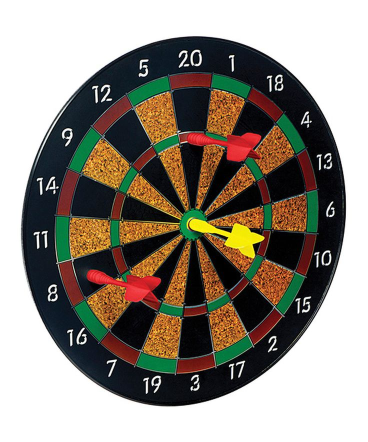 Magnetic Dart Board by Toysmith #zulily #zulilyfinds