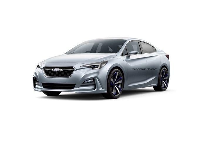 Автофория: Subaru Impreza Sedan концепция до офицального дебю...